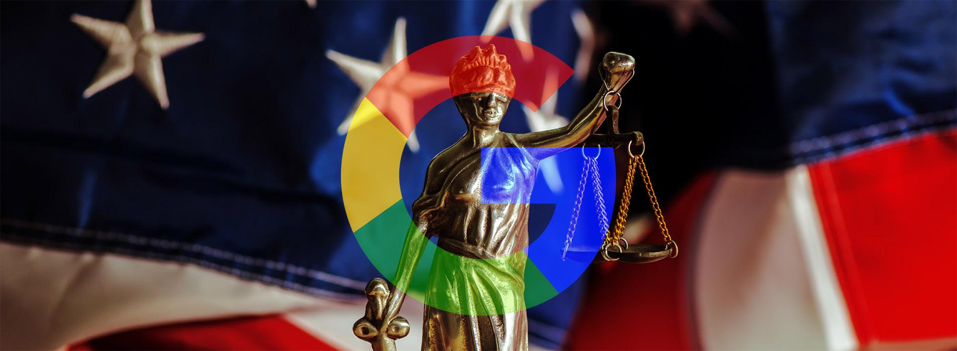 Google in het vizier van||de Amerikaanse justitie
